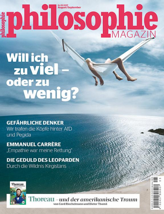 Philosophie Magazine Nr.Nr. 35 - August 2017
