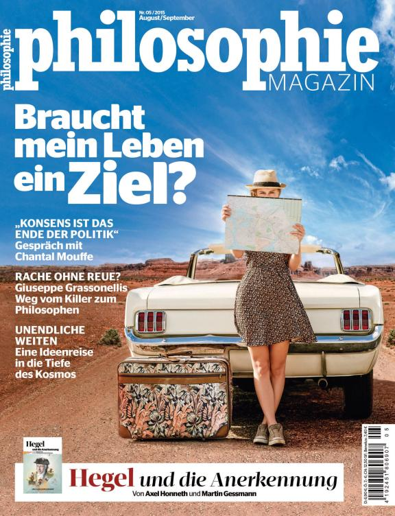 Philosophie Magazine Nr.Nr. 23 - August 2015
